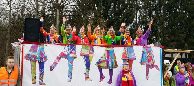 Karnevalsumzug in Bröl 2017