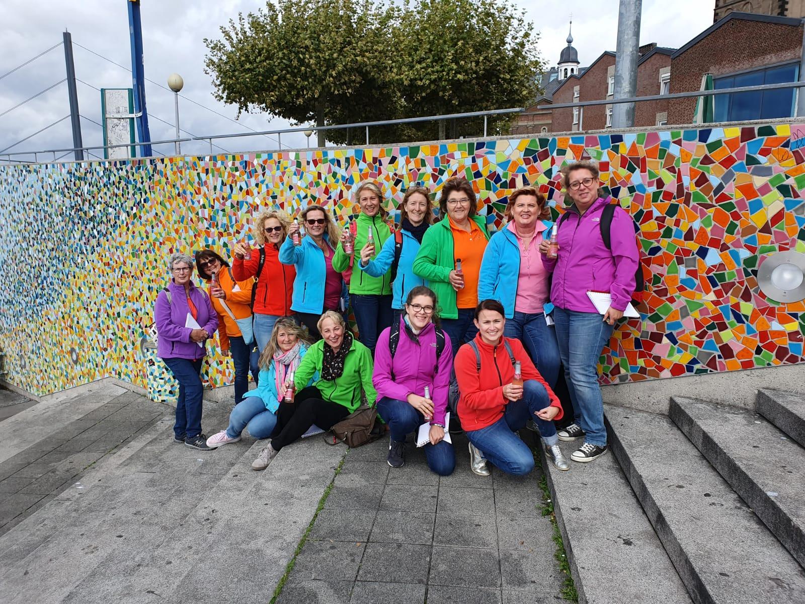 Gruppenfoto Rheintreppe
